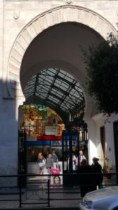 Market arch Malaga