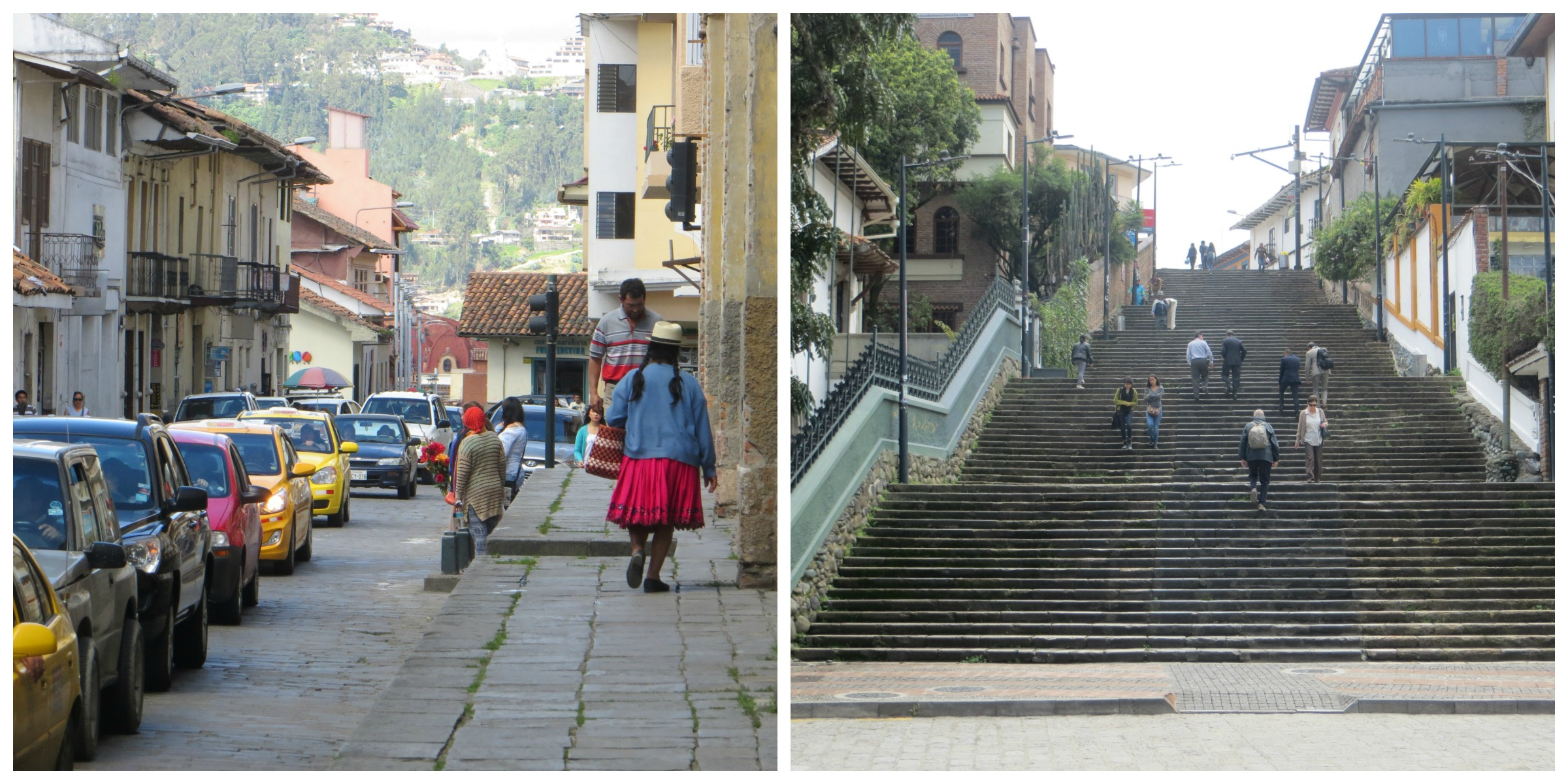 Cuenca streets Collage